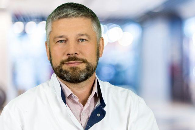 Заместитель главного врача по клинико-экспертной работе Краснодарской краевой инфекционной больницы Игорь Люлин.