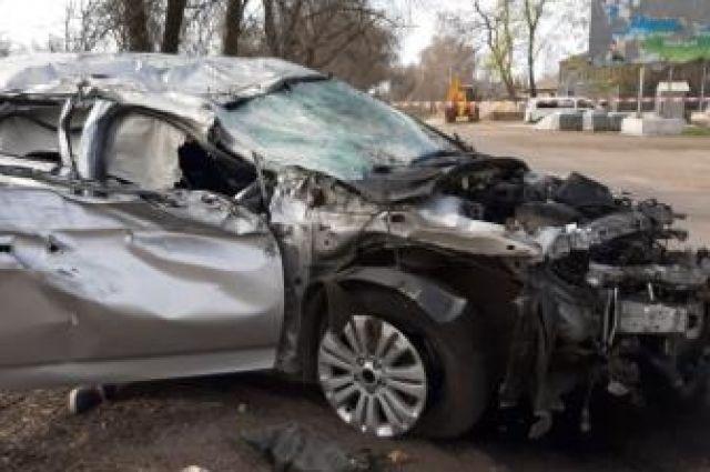 Кировоградской области пьяный полицейский устроил ДТП с летальным исходом