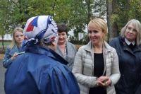Наталья Макаревич на встрече с тамбовчанами до пандемии.