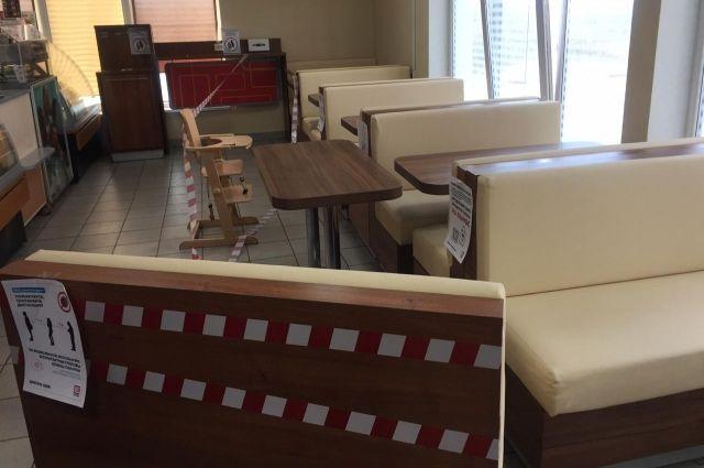 Из-за карантина все кафе опустели. Заведения работают на доставку.