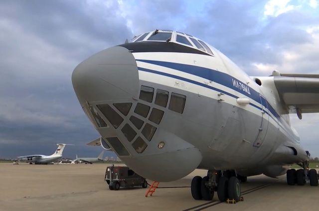 Россия направит в США самолет с медтехникой для борьбы с COVID-19