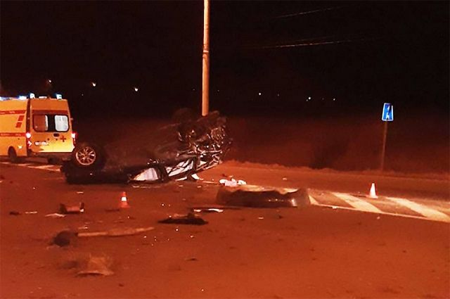 В ДТП на Большой окружной погибли два человека