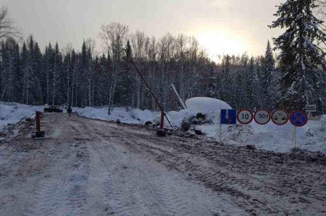 Из 56 ледовых переправ действующими остается 23.