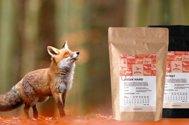 Ферментацию зерен кофе проводят сибирские лисы.