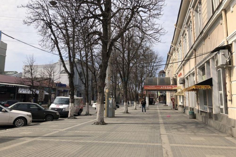 Улица Горького.