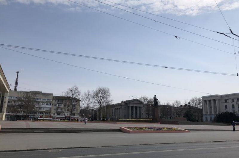 Площадь им. Ленина.