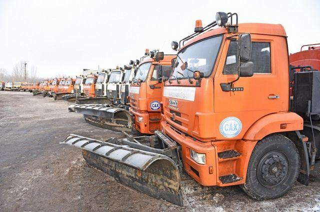 Техника САХ убирает пять из шести районов Ярославля.