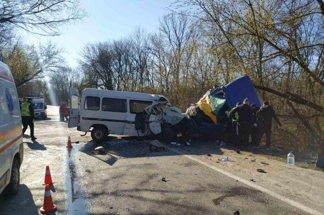 ДТП в Кировоградской области: в результате аварии пострадало семь человек