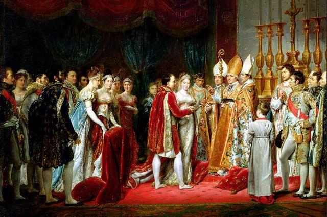 Бракосочетание Наполеона и Марии-Луизы. Художник Жорж Руже.
