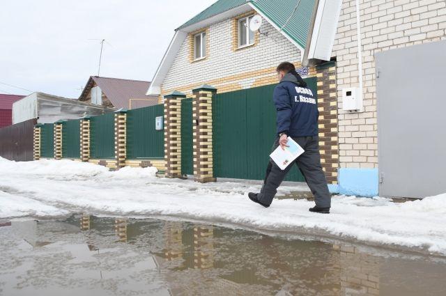 Большие запасы в воды в снежном покрове бассейнов рек Новосибирской области могут стать неблагоприятным фактором для весеннего паводка.