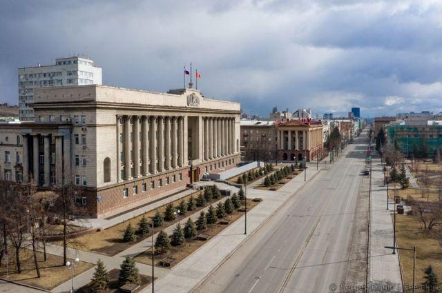 В центре Красноярска вводятся ограничения.