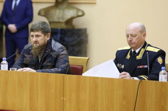 Ранее Игорь Хвостиков возглавлял УФСБ по Чеченской Республике.