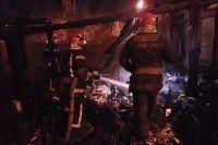 В Киеве во время ликвидации пожара были обнаружены тела двух мужчин