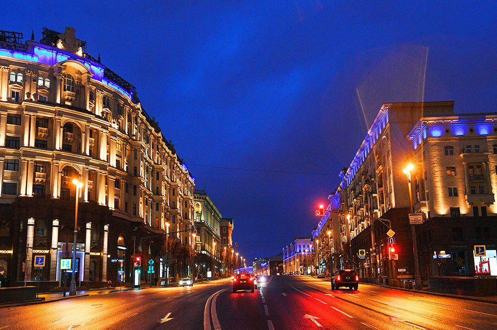 Здания на Тверской улице.