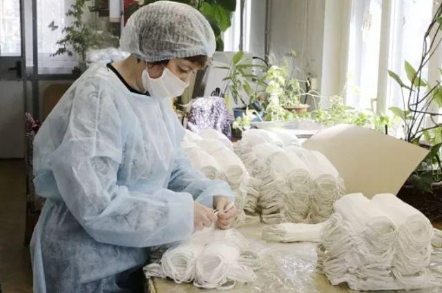 В апреле в области откроется фабричное производство медицинских масок