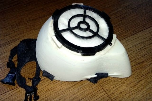 В Тюмени начали печатать маски на 3D-принтере