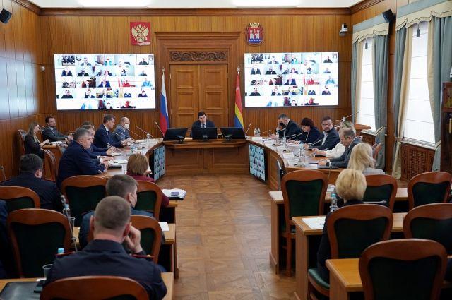 «Режим самоизоляции» в регионе продлён до 12 апреля
