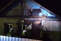 Пожарные больше часа тушили частный дом.