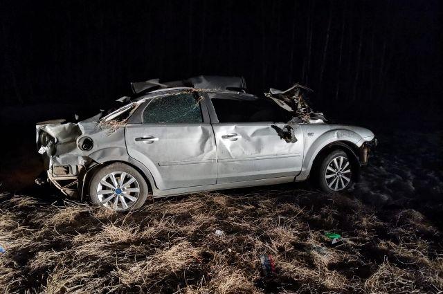 В Шарлыкском районе в ДТП погиб водитель иномарки.