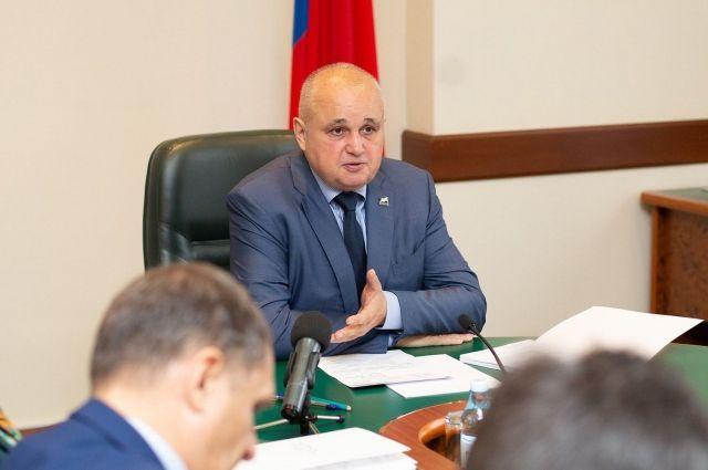 Сергей Цивилев выступил с обращением к жителям Кузбасса.