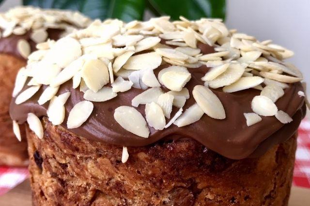 Без красителей и химии: пошаговый рецепт шоколадного кулича