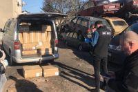 В Вольнской области контрабандист машиной наехал на правоохранителя
