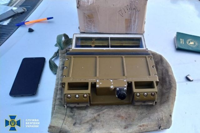 СБУ предотвратила контрабанду в Россию военного оборудования