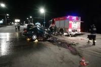 УМВД о смертельном ДТП: водитель BMW выехал на встречную полосу.