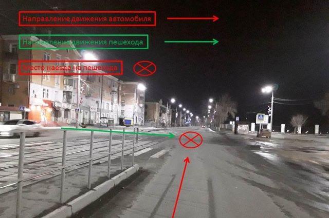 В Новотроицке водитель иномарки сбил мужчину на пешеходном переходе.
