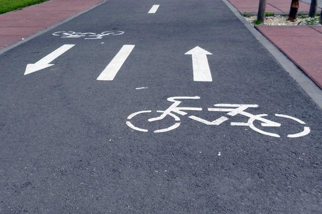 В Светлогорске началось строительство велодорожки «От косы до косы»