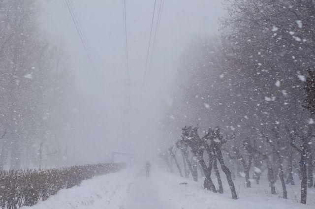 В Тюменской области объявлено штормовое предупреждение