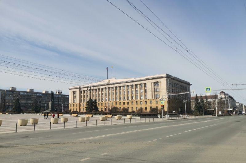 Площадь Ленина. Правительство Пензенской области.
