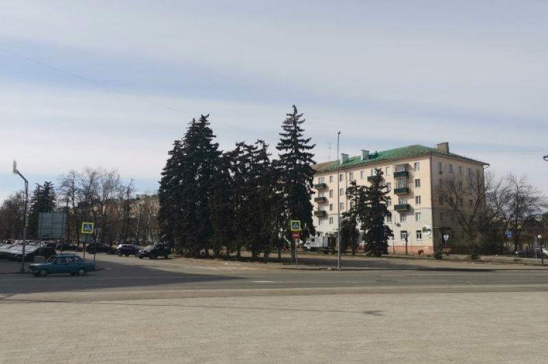Улица Славы.