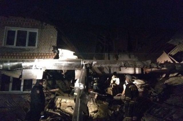 При обрушении дома в Нижегородской области 1 человек погиб, 6 пострадали
