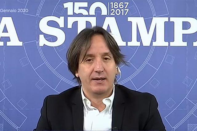 Журналист газеты La Stampa Якопо Якобони.