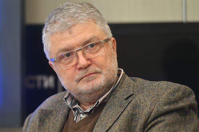 Писатель, публицист и общественный деятель Юрий Поляков.