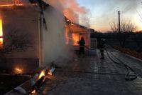 В Луганской области произошел пожар в интернате для пожилых людей