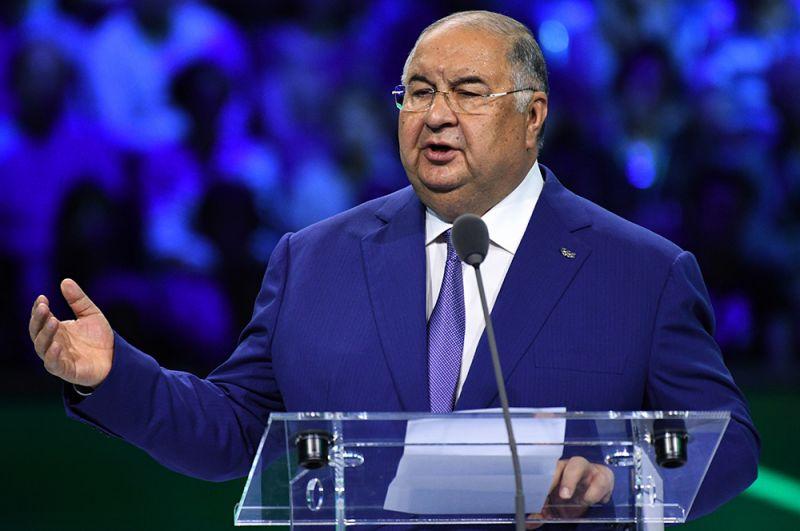 Основатель и основной акционер USM Holdings Алишер Усманов — $13,4 млрд.