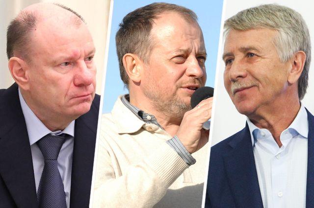 Владимир Потанин, Владимир Лисин и Леонид Михельсон.