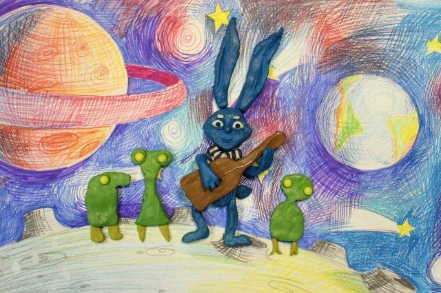 Кадр из мультфильма «Телескопа».