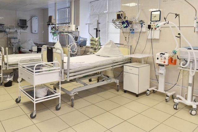 Приём и выписка пациентов в медучреждении остановлены.