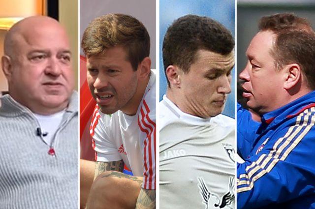 Дмитрий Селюк, Федор Смолов, Иван Игнатьев, Леонид Слуцкий.