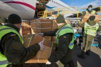 В Украину прибыло еще три самолета из КНР со средствами против коронавируса