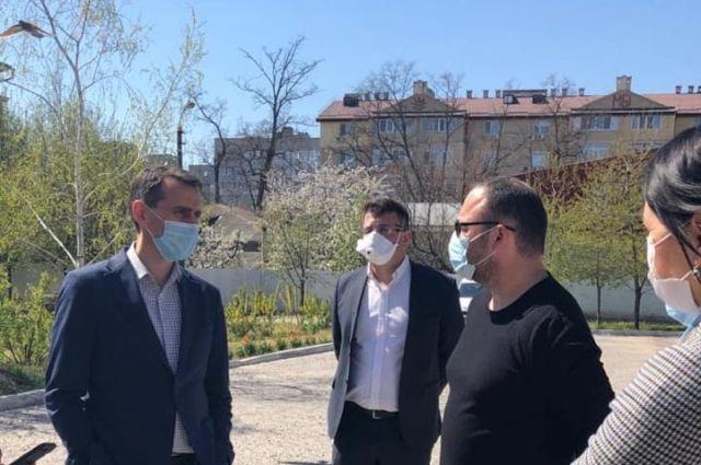 Главный санврач Ляшко посетил Николаев: чиновник опроверг информацию о ДТП