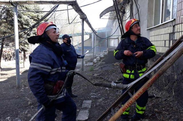 В Днепропетровской области произошел пожар на шахте