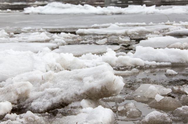 В ближайшие два дня ожидается вскрытие реки Уса в Междуреченске.