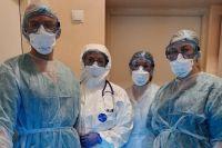 Врачи первыми работали с больными коронавирусной инфекцией.