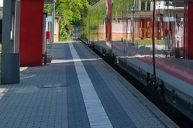 На станции Голубево восстановлена пассажирская платформа