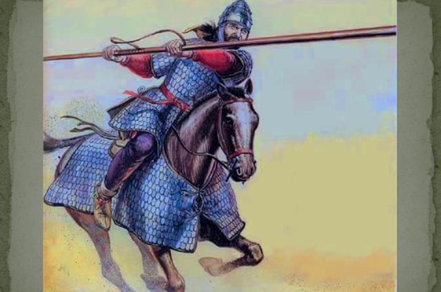 Доспехи сарматов некоторые историки считают прообразом рыцарского снаряжения в Европе.