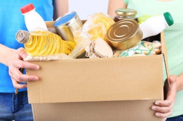 Для семей подготовят продуктовые наборы.